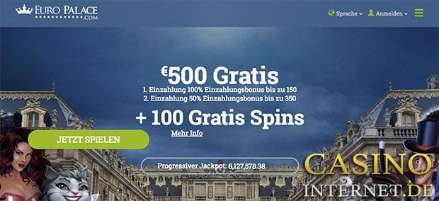 euro palace casino bonus gratis spins